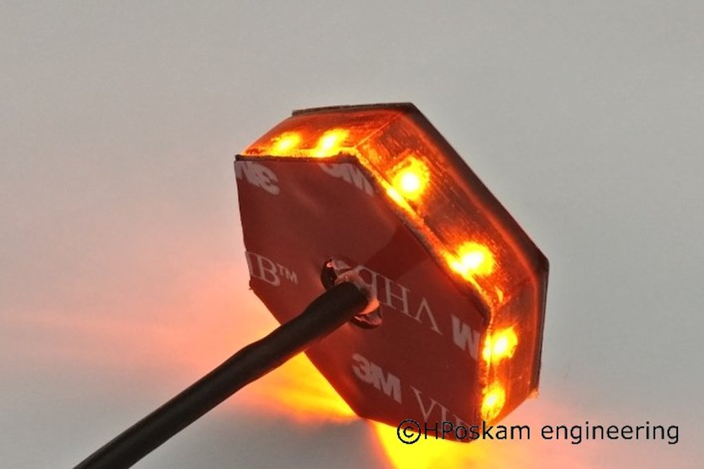 Bmw Led Emblem Indicator Lights Set 70mm Hposkam Engineering