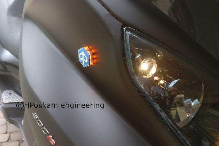 Piaggio MP3 led embleem knipperlichten
