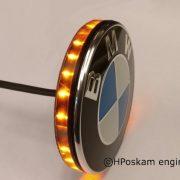 BMW led embleem knipperlichten (set) 74mm